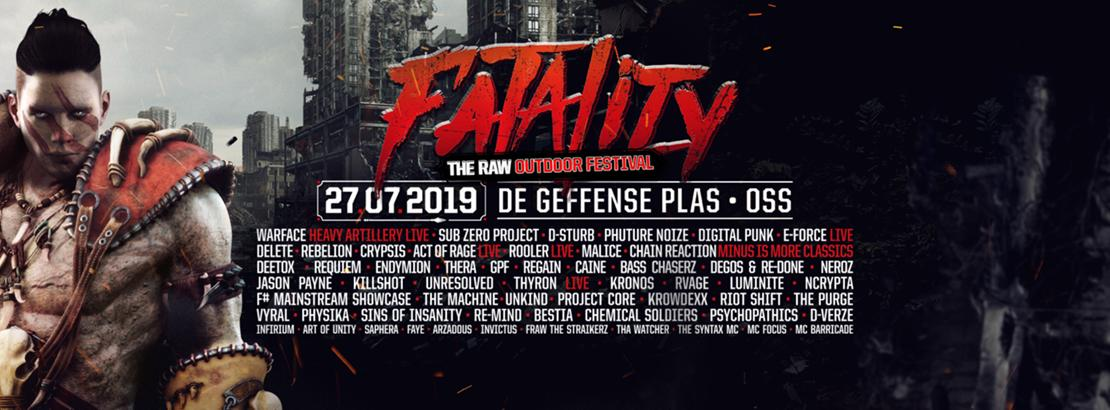 Bild 27.07.2019 Fatality Raw Outdoor Bustour und Tickets
