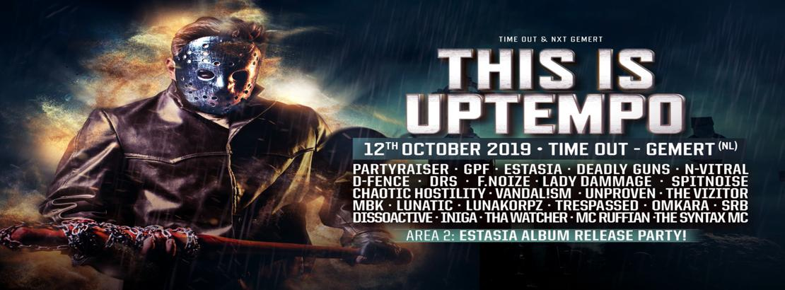 Bild 12.10.2019 This is Uptempo Party Bus und Original Ticket