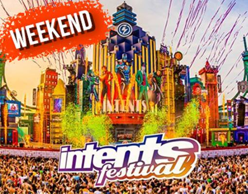 Intents Festival - Weekend Logo