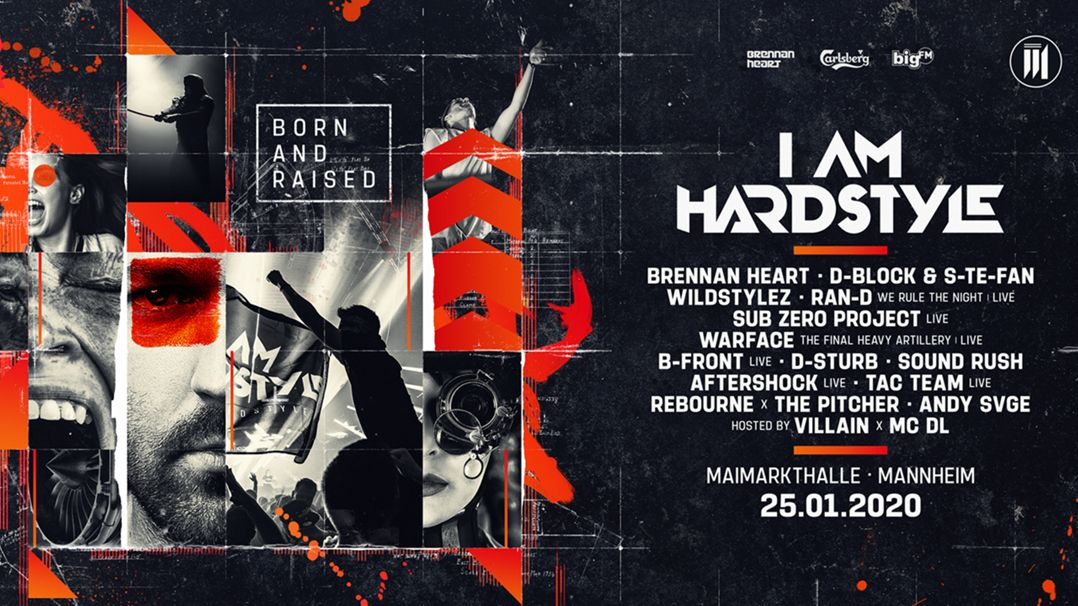 I Am Hardstyle - Germany Logo