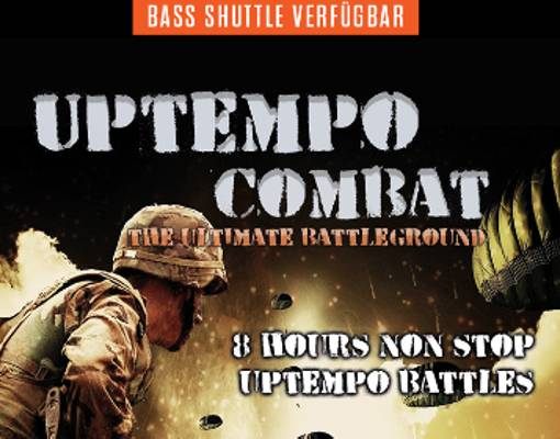 Uptempo Combat - The Ultimate Battleground Logo