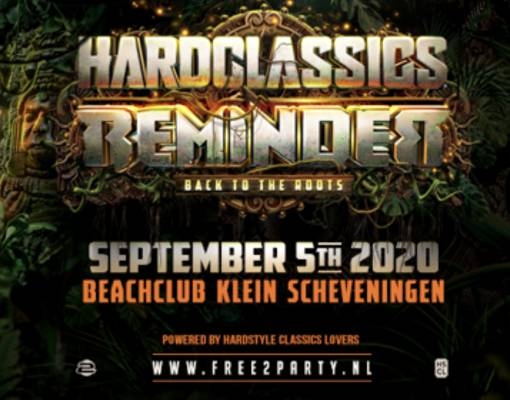 Hardclassics & Reminder - Back To The Roots Logo