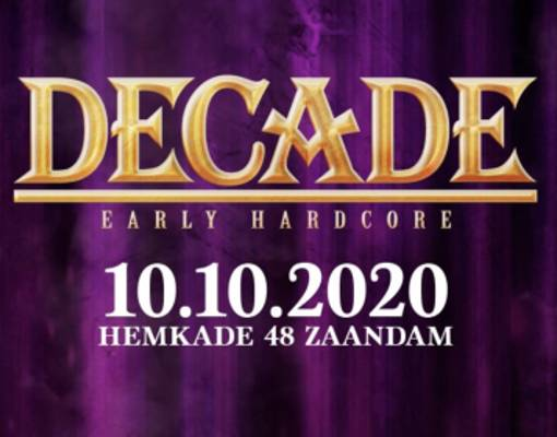 Decade of Early Hardcore Logo