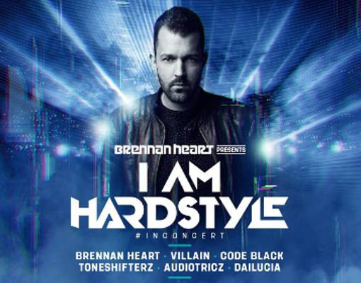 Brennan Heart presents I AM HARDSTYLE in concert Logo