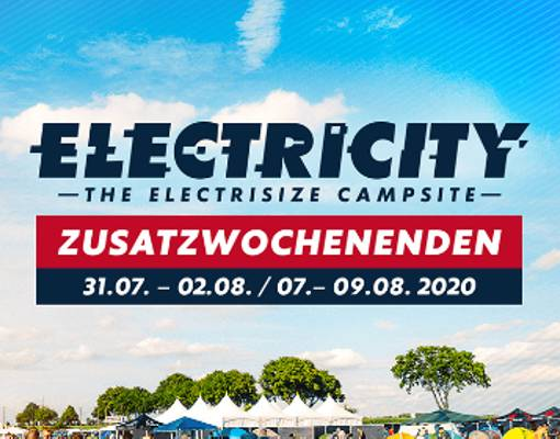 Electricity - The Electrisize Campsite Weekend 3 Logo