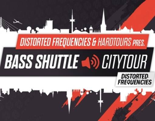 Distorted Frequencies Citytour Wesel Logo